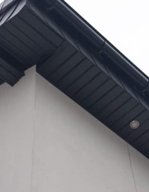 Habillage de toit PVC